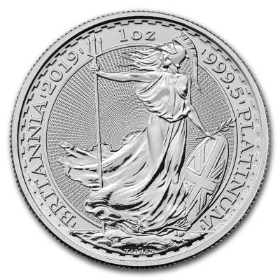 100 pounds Britannia Platinum 1 oz