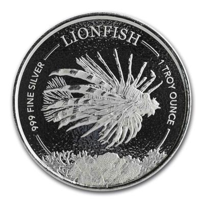 1 dollar Barbados Flying fish 1 oz