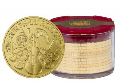 1 oz Gold Philharmonic 10pcs