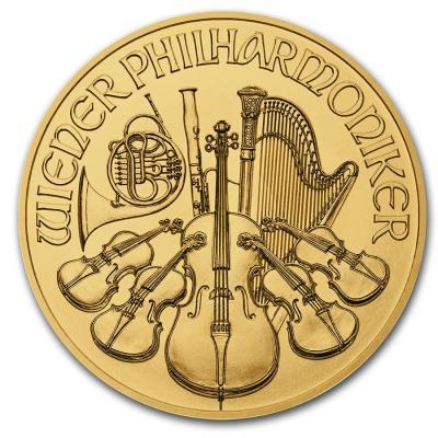 10 euro Vienna Philharmonic 1/10 oz