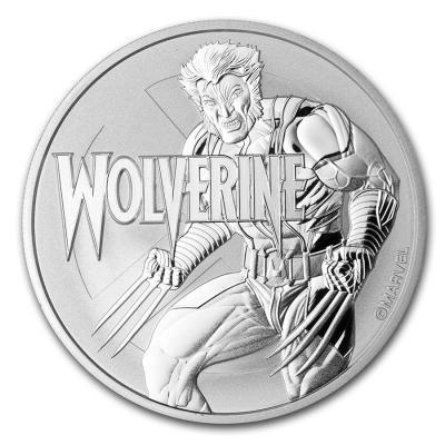 1 dollar Tuvalu Wolverine Ag 1 oz.