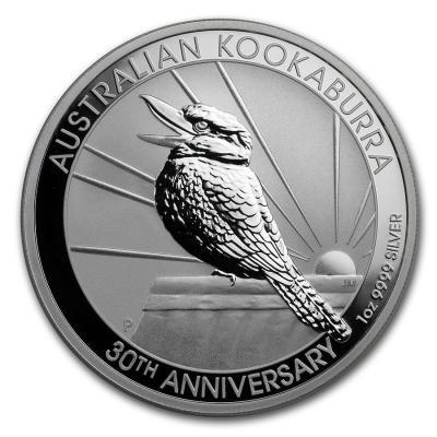 1 oz Silver Kookaburra