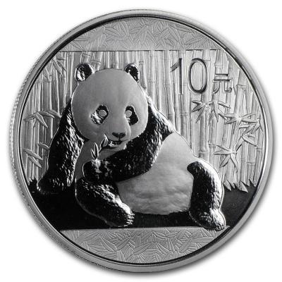 10 yuan Panda Ag 1 oz 2015 y.