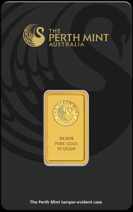 10 gram Gold Bar - The Perth Mint (In Assay)