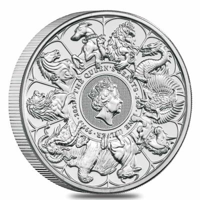5 pounds Queen's Beasts The Completer, 2 oz