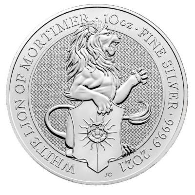 10 pounds, The White Lion of Mortimer, 10 oz