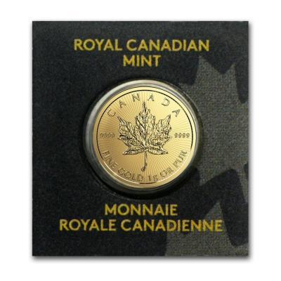 1 gram Gold Maple Leaf